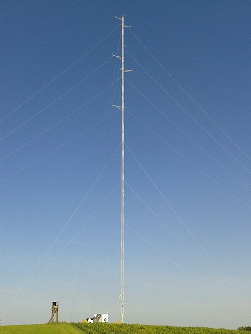 Windmessung Lindar Mast